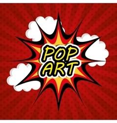 Pop art design vector