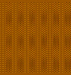 rib knit pattern vector image