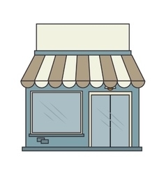 store building buy isolated vector image