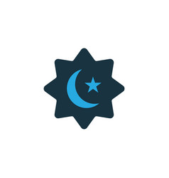 believer colorful icon symbol premium quality vector image
