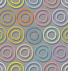 Colourful range of seamless background Abstract vector image vector image