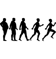 Fat to fit vector image