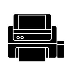 printer icon image vector image