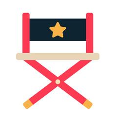 Chair flat vector