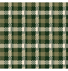 Digital plaid vector