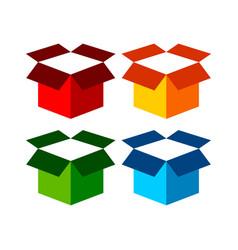 freight open box icon symbol graphic design vector image