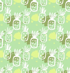 Pineapple pattern54 vector