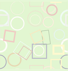 seamless background abstract geometric ellipse vector image