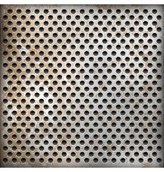 texture rusty metal background vector image