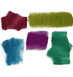 textured paint2 vector image