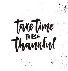 Thanksgiving lettering vector