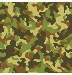 Woodland Camouflage Seamless Pattern vector