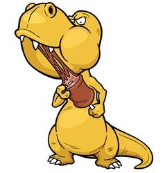 Dinosaur vector image vector image