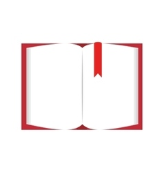 Book page blank vector