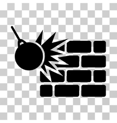Destruction Icon vector
