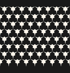 Geometric seamless pattern with triangular shapes vector