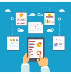 Mobile optimization and analytics vector