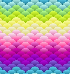 Neon rainbow light blobs seamless background vector image