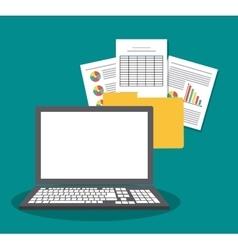 Spreadsheet icon design vector image