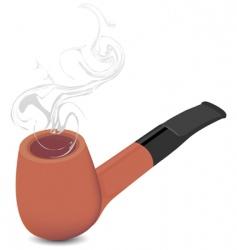 briar pipe vector image