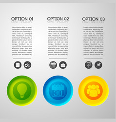 social buttons concept background vector image vector image
