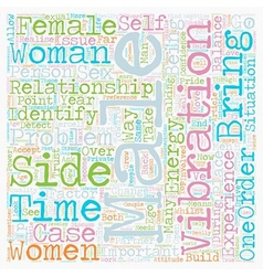 The Battle of the Sexes text background wordcloud vector image