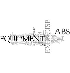 Ab exercise equipment an honest review text word vector