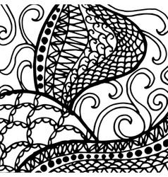 Doodle design vector image