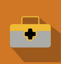 First aid icon in trendy flat style isolated on vector