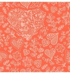 Seamless valentines pattern vector