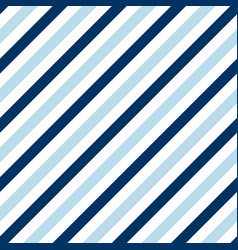 simple seamless pattern with blue stripes vector image