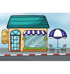 A Coffeehouse vector image
