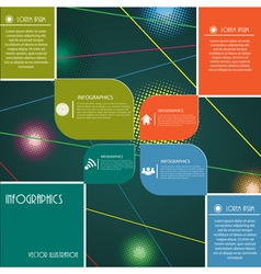 Modern design layout for business vector image vector image