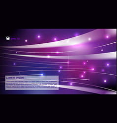 Abstract colorful background violet light streak vector