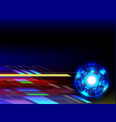 abstract technology background with copy space vector image