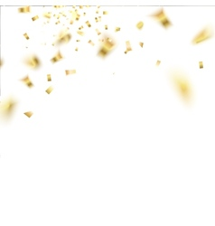 Confetti isolated vector