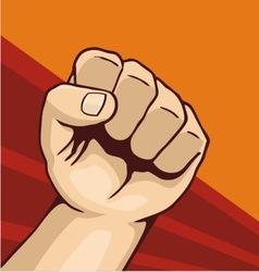 fist 01 vector image