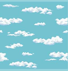 pattern cloud vector image