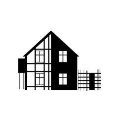 Repair house building construction vector