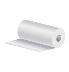 roll of paper towels vector image