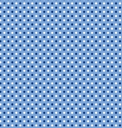 Seamless blue polka dot vector