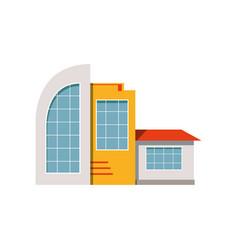 Shop store facade exterior of market modern vector