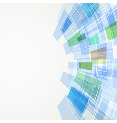 Square abstract bright background vector