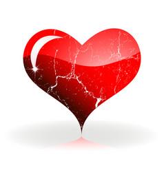 heart stvalentine vector image vector image