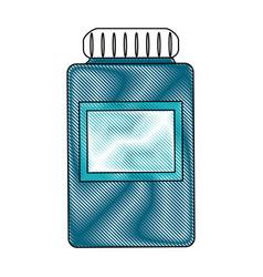 medication pills flask icon image vector image