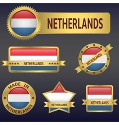 Netherlands vector image vector image