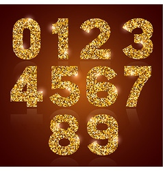 Digits golden vector