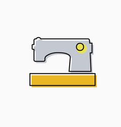 Linear icon craft vector