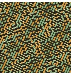 Maze Of Labyrinth vector