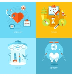 medical and health icons set for web design mobile vector image